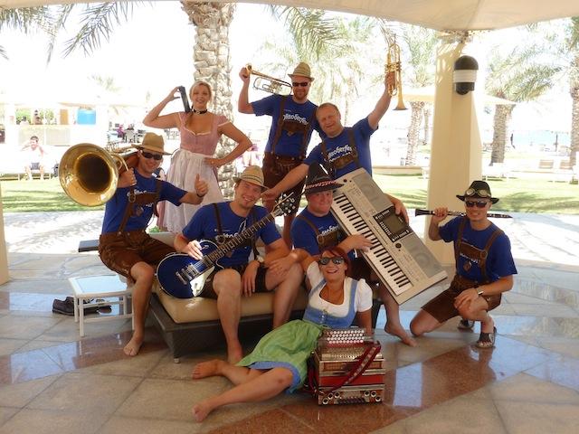 Xelchten am Oktoberfest im Hotel in Doha (Katar) 2009-2012