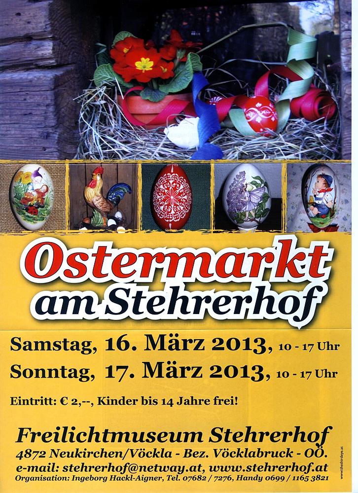 Stehrerhof-Ostermarkt 2013